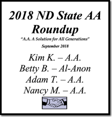 North Dakota State AA Roundup - 2018
