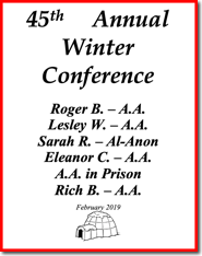 45th Annual Winnipeg Winter Conference - 2019