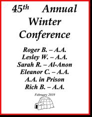 45th Annual Winnipeg Winter Conference - 2019