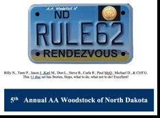 5th Annual Rule 62 - AA Woodstock