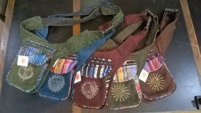 Hip Bags Handmade from Cotton in Nepal