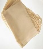 "6""x10"" Drawstring Cotton Bags, American Made, 100 Pk"