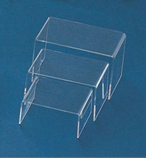 Acrylic Riser 3 piece Set, Priced per Set