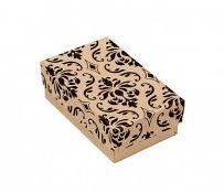 Damask Cotton Filled Jewelry Paper Box, 1 7/8'' x 1 1/4'' x 5/8''H, Priced per 100 Pk