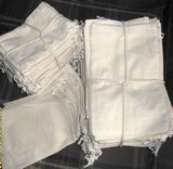 """29""""x29"""" Cotton Bags with Drawstring, 100 Pk"""