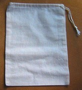 "8""x 12"" Cotton Bags, 4 Pack, Priced Per Pack"