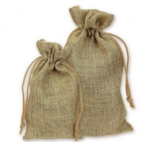 """3""""x 4"""" Burlap Bags, 4 Pack, Priced Per Pack"""
