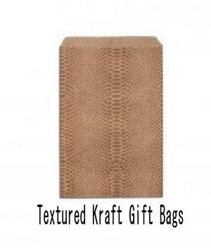 Paper Kraft Gift Bags, 8 1/2