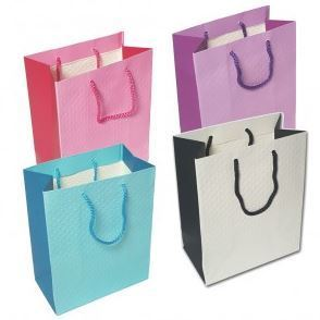 Merchandise Bags, Sold Color Totes, 7