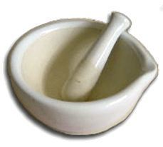 500ml Mortal with Pestle, Boxed, Price Each