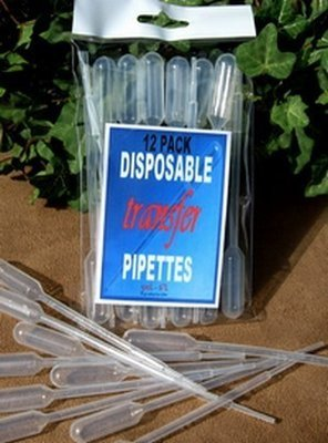 Pipettes, Plastic Transfer, 12 Pk with Info Insert, Priced per 6 Packs