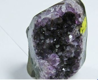 Amethyst Cluster with Cut Base, About 2 lb Size, Priced Each