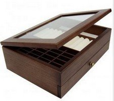 "Wooden Jewelry Box, 11 9/10""L x 8 1/2""D x 3 9/10""H, Priced Each"