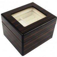 "Wooden Men/Women Jewelry Box,  4 4/5""L x 4 1/10""D x 3 1/5""H, Priced Each"