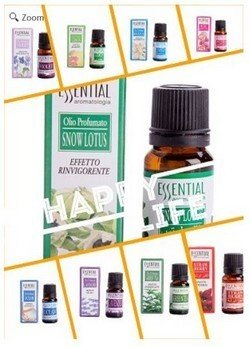 10 Essential Oil Set, 10 Various Scents in 10ml Bottles, Boxed, Price Per Set