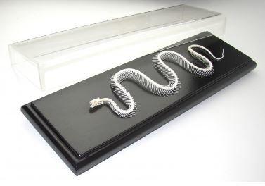 Non-Venomous Snake Skeleton Specimen, Dinodon Rufoznatum, Priced Each