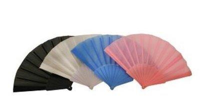 Solid Color Silk Fans, 15