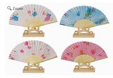 Decor Fans, Bright Colorful, 15