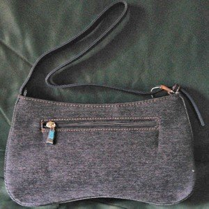 Ladies Hand Bag, Denim Material with Pockets, Priced Each