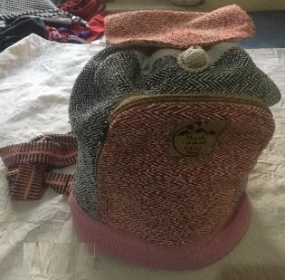 "Backpacks with Colored Hemp, 9.5""x 13"", Priced Each"