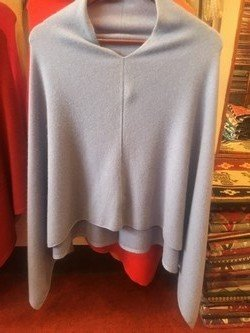 Cashmere Ponchos, One Size Fits All, Solid Color, Priced Each