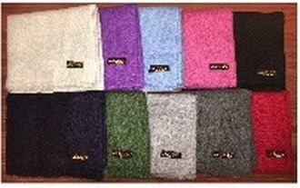 "Cashmere Blend Scarves, 28"" x 80"", Solid Colors, Priced Each"