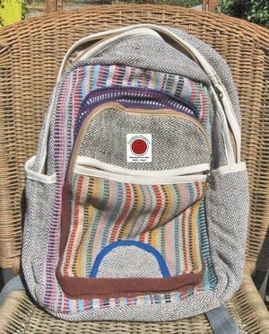 Backpack with Multi Zippers and Pockets, Priced Each