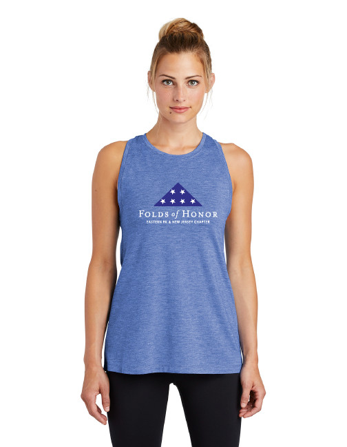 Sport-Tek ® Ladies PosiCharge ® Tri-Blend Wicking Tank