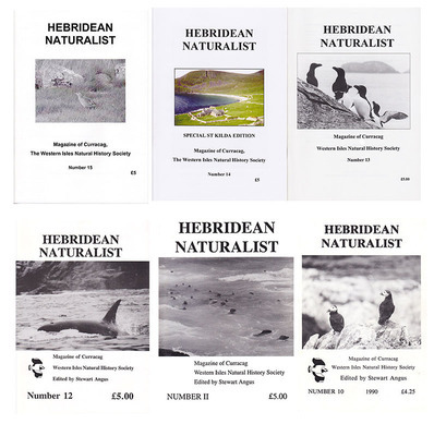 Hebridean Naturalist - choice of 3 - 20% discount