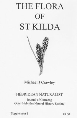 Hebridean Naturalist Supplement 1 - The Flora of St. Kilda