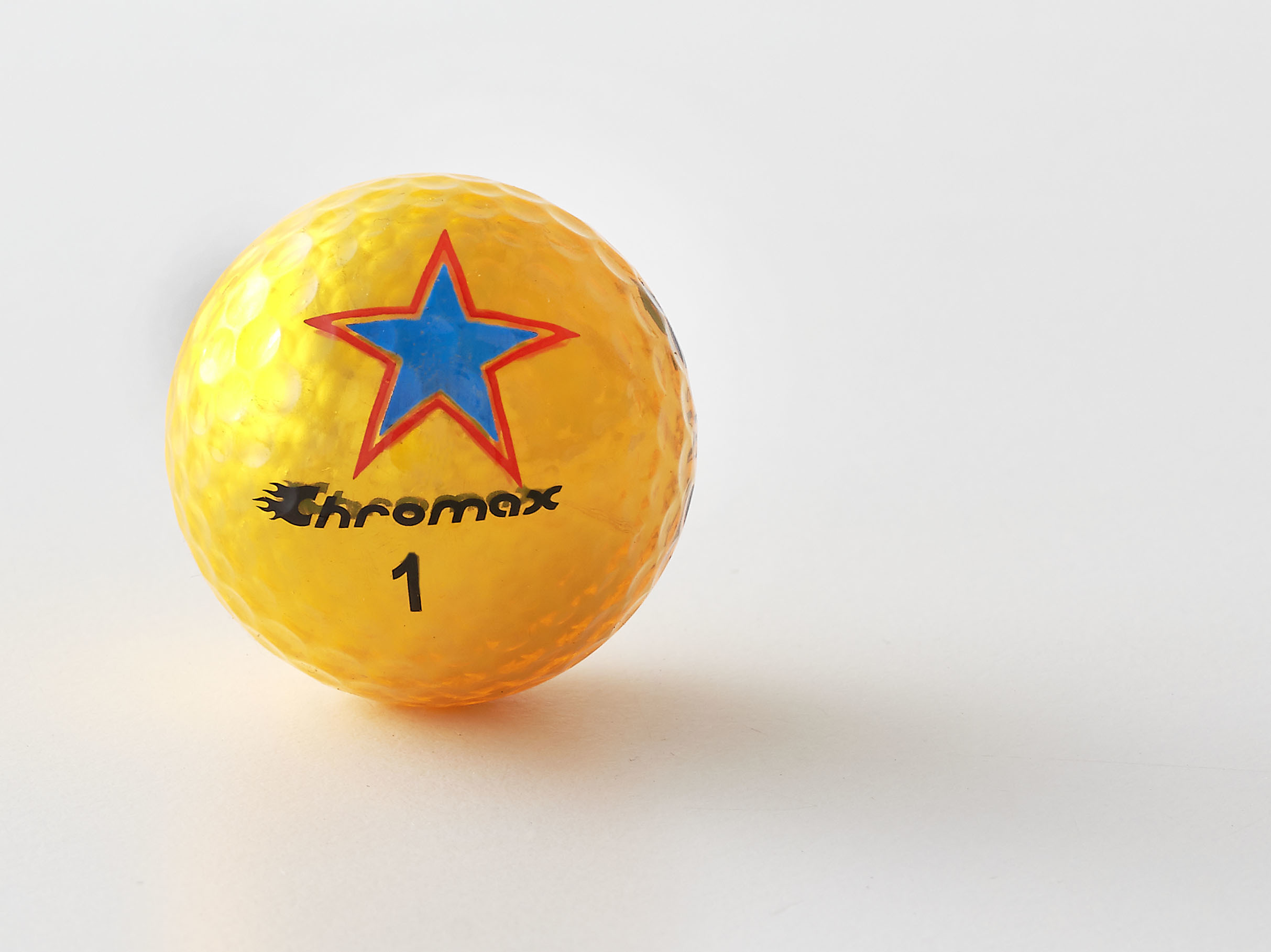 Chromax® Colored Gold Golf Balls - Limited Edition Star