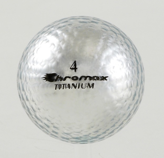 Chromax silver golf ball M1x