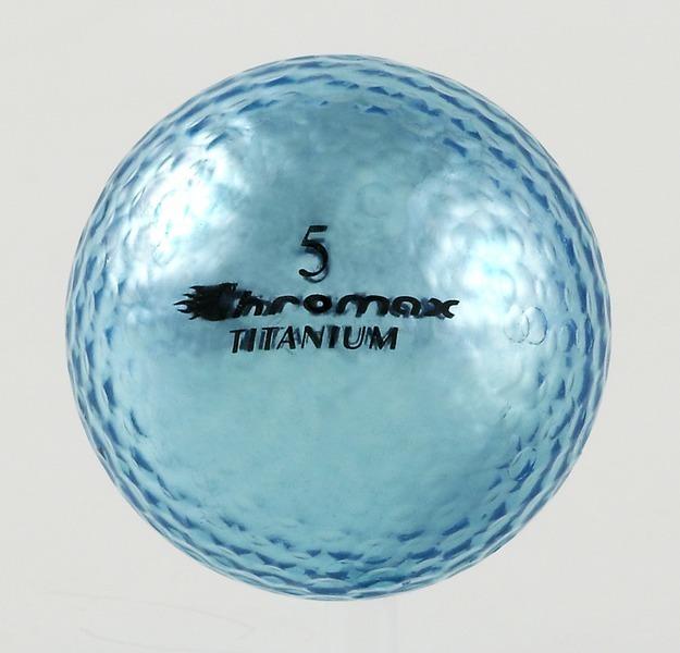 Chromax blue golf ball M1x