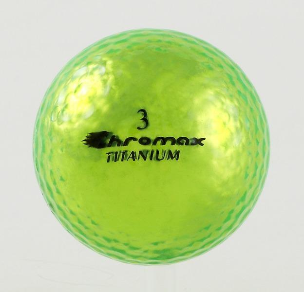 Chromax green golf ball M1x