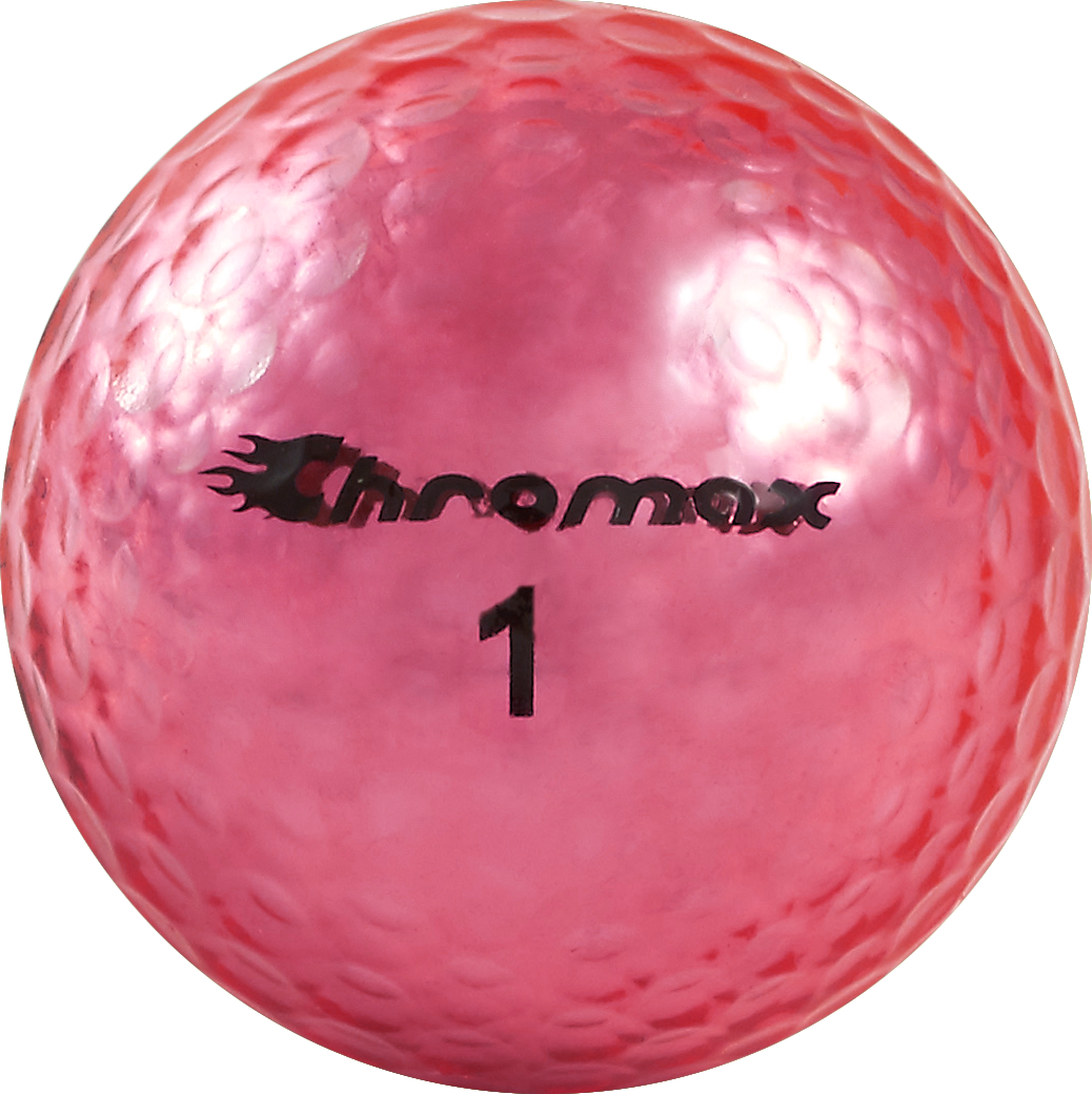 Chromax pink golf ball M5 single