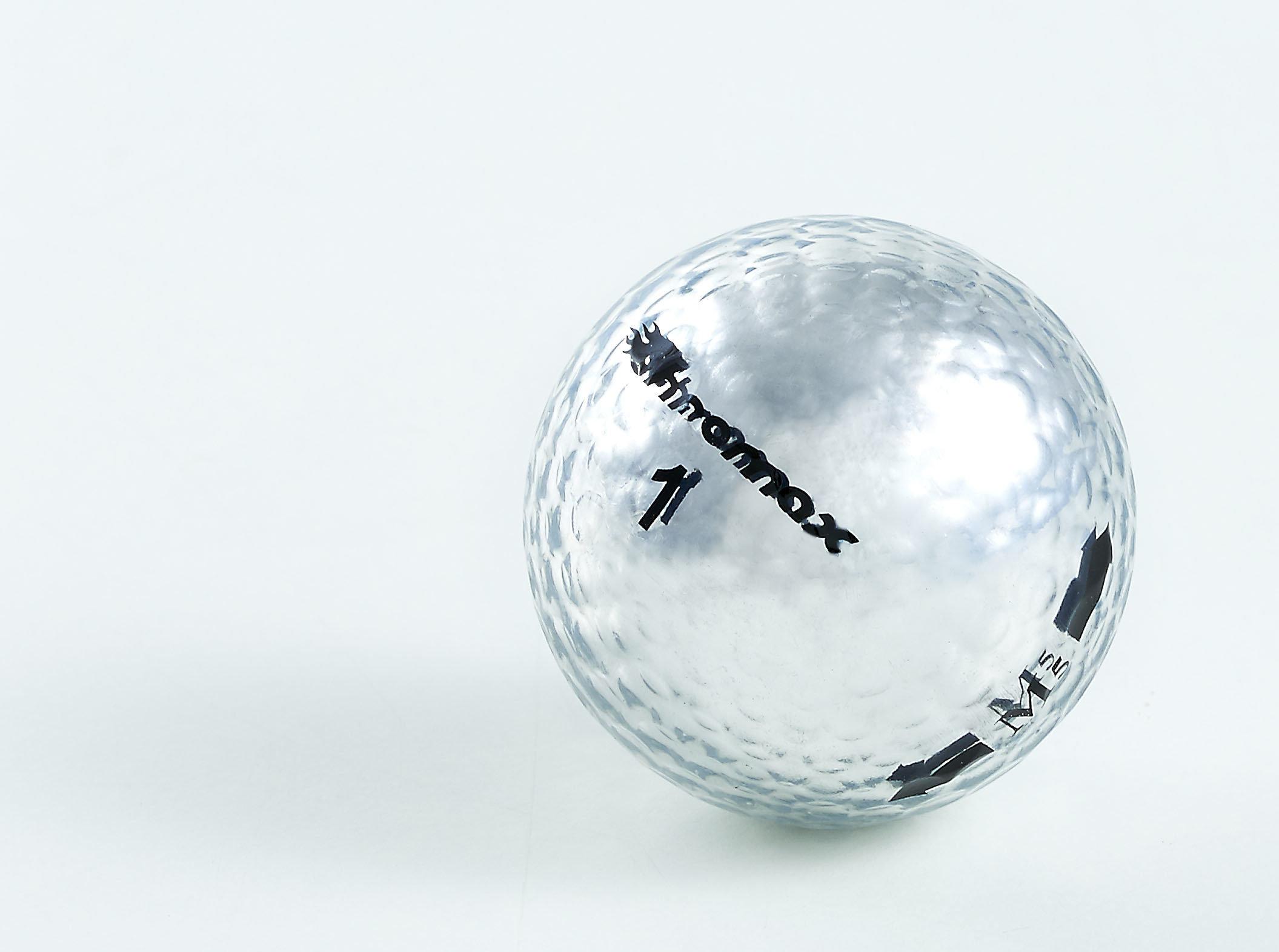 Chromax silver golf ball M5 single