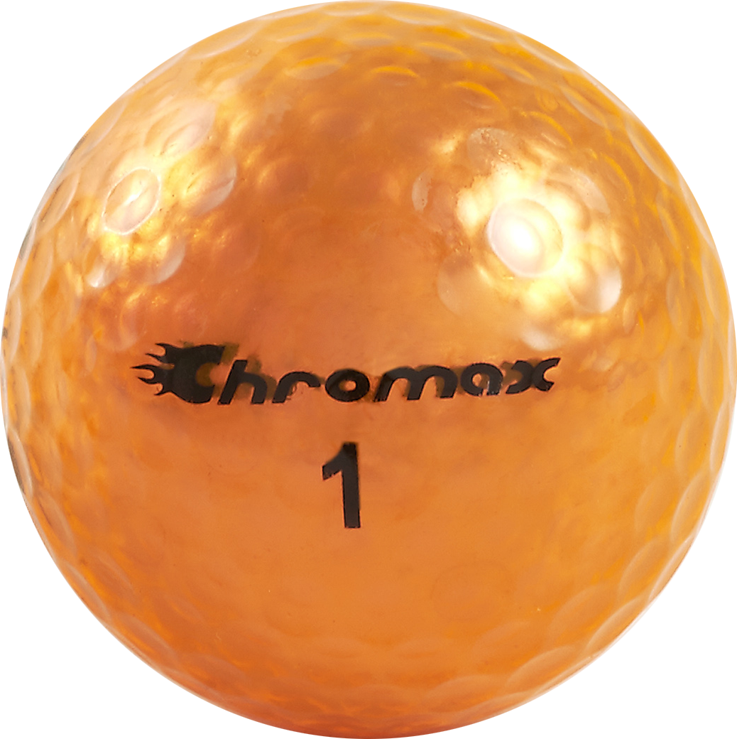 Chromax orange golf ball M5 single