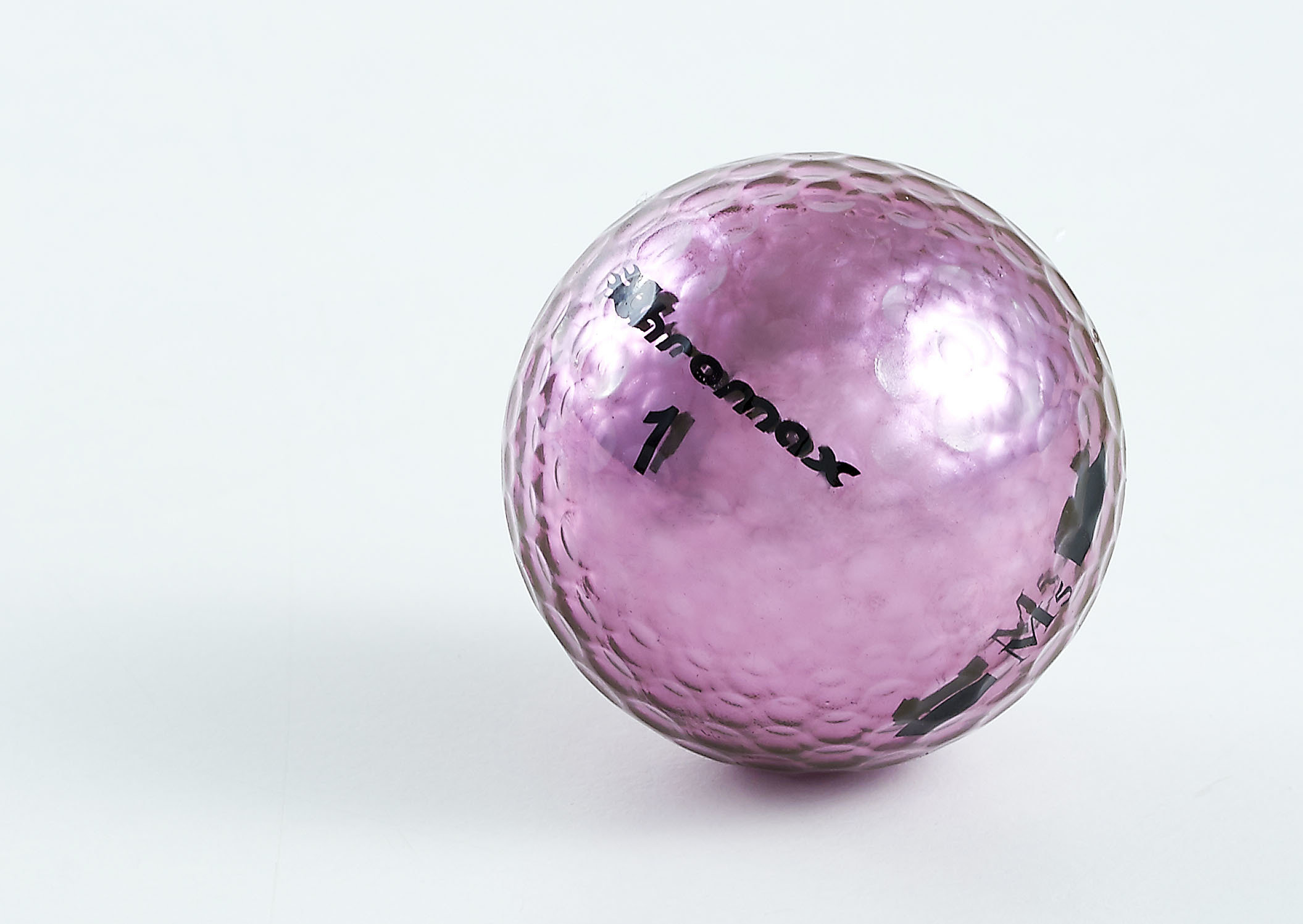 Chromax purple golf ball M5 single