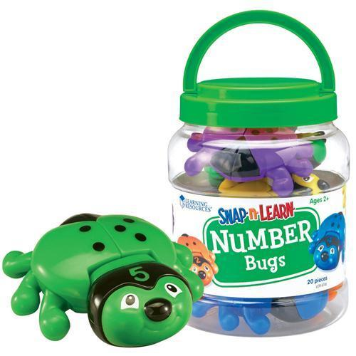 """Развивающая игра """"Собери, изучи и посчитай жуков""""."""