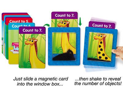 """Обучающие карточки """"Встряхни и посчитай"""" FF181"""