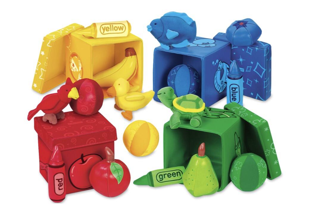 """Набор для сортировки """"Мягкие кубики"""" AA388"""