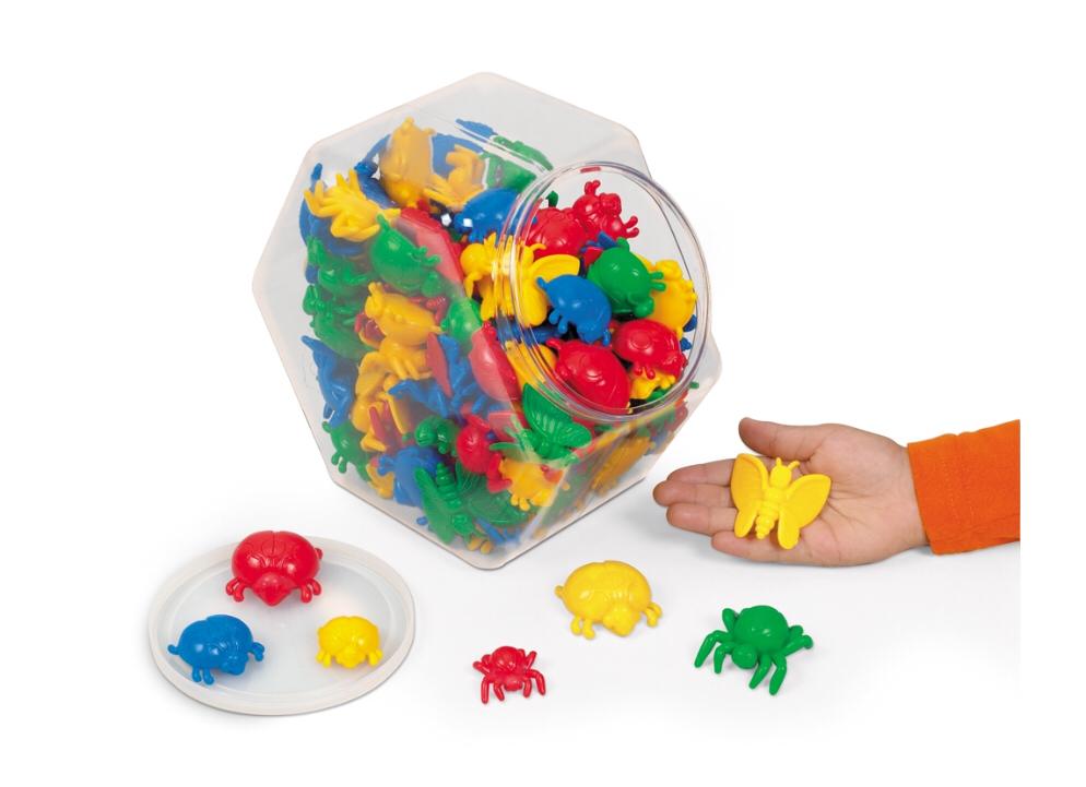 Набор для сортировки «Размер и цвет. Насекомые» LC1651