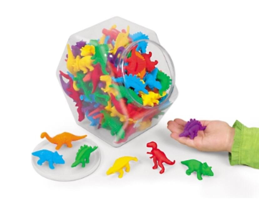 Набор для сортировки «Размер и цвет. Динозавры» LC1652