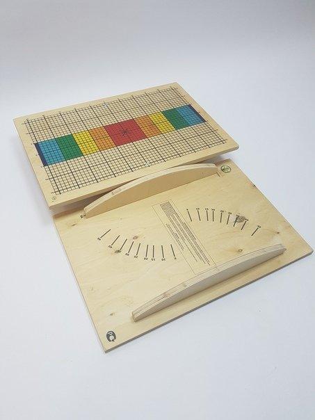 Балансировочная доска LBK BeBalance разметка с цветными секторами BB0007