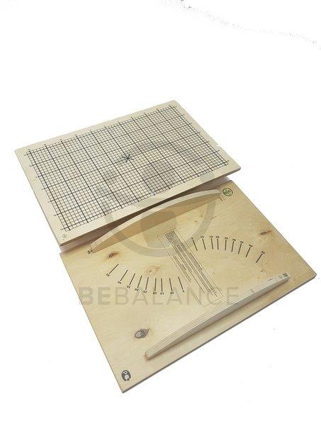 Балансировочная доска LBK BeBalance разметка №1 BB0008