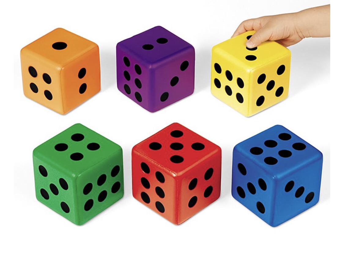 Гигантские кубики .6 шт GS304
