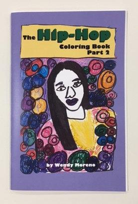 00029 hip hop coloring book v 2 - Hip Hop Coloring Book