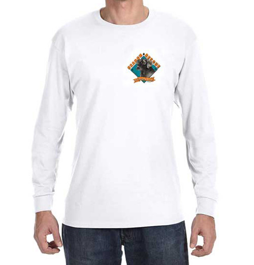 Long Sleeve T-Shirt: SAR K-9 Lab