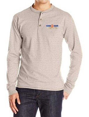 Long Sleeve Henley: SAR