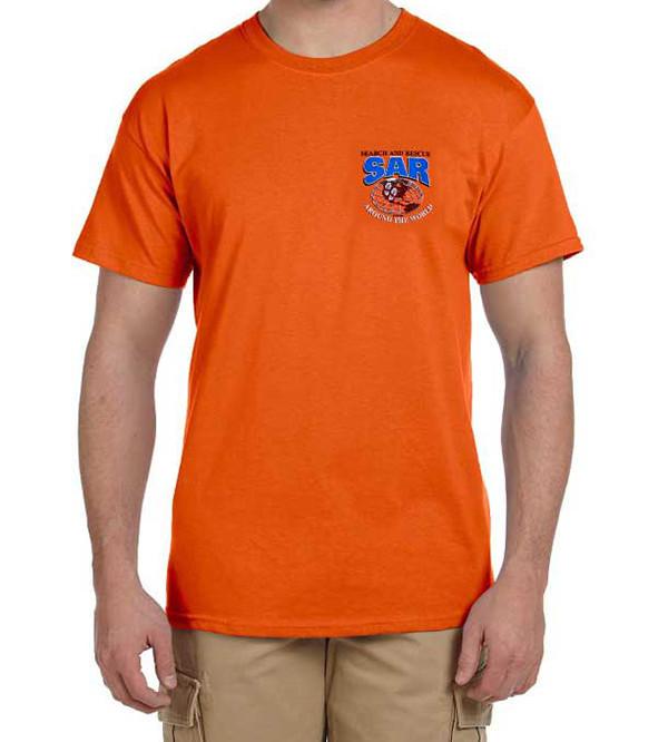 Short Sleeve T-Shirt: SAR Around the World
